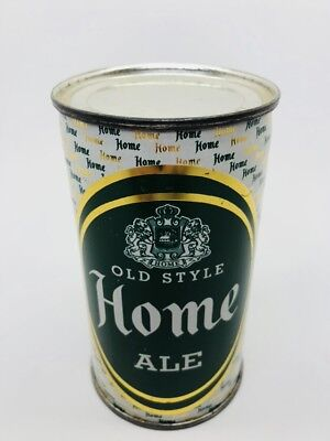 Home ALE- Flat Top Beer Can. Drewrys Brewing. South Bend, Indiana - IN - NICE