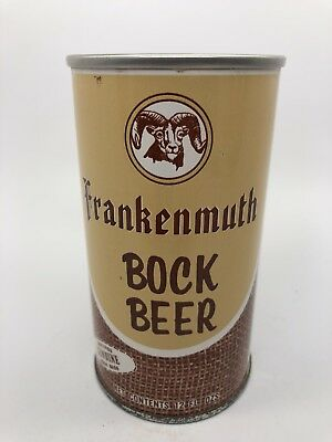 Frankenmuth Bock Beer - 1960's Pull Tab Beer Can. South Bend, Indiana - IN