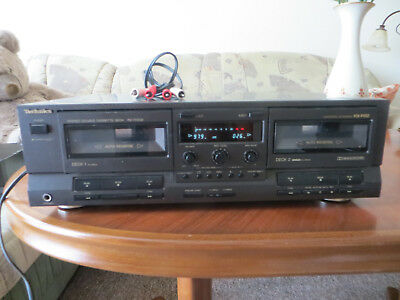 TECHNICS - RS-TR 333 CASSETTE DECK Made in Japan!!!