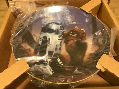 The Hamilton Collection 1st Edition Star Wars Collector Plate - R2D2
