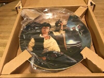 The Hamilton Collection 1st Edition Star Wars Collector Plate - Han Solo