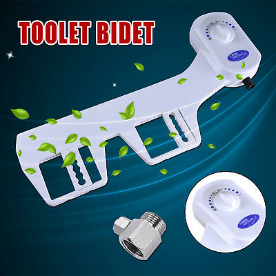 Hygiene Water Wash Clean Unisex Easy Toilet Bidet Seat Attachment Cover Cleaner