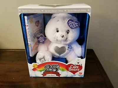 Care Bears 25th Anniversary Bear-Swarovski Crystal Eyes/Sterling Silver Accents