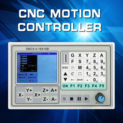 SMC4-4-16A16B 4 Axis CNC Motion Controller For Carving Machine Control System