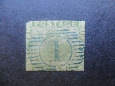 Western Australia Stamps: 6d Green Swan Imperf Used  {a40}