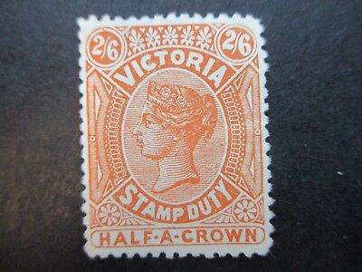 Victoria Stamps:  Stamp Duty MINT   (j84)
