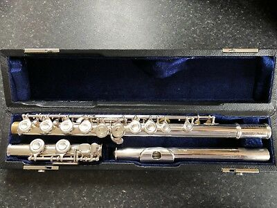 Professionally Serviced Artley 77-0 Symphony Flute **Solid Silver Head**