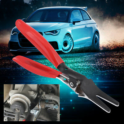 Car Fuel Angled Vacuum Line Tube Hose Remover Separator Plier Pipe Clamp Tool ES