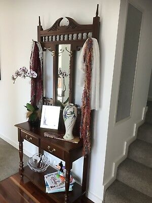 Hall Stand.... Antique with mirror