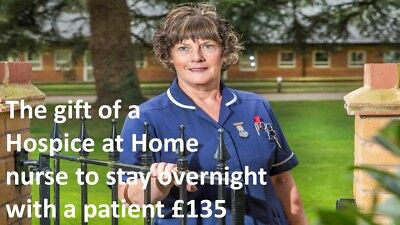 The Gift Of A Hospice At Home Nurse To Stay Overnight - Charity Virtual Gift