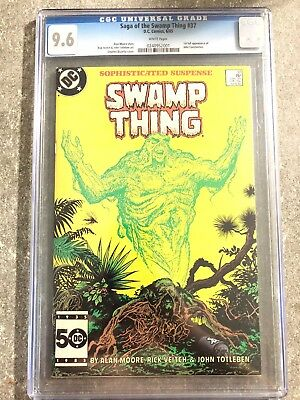 The Saga of Swamp Thing #37 FIRST APPEARANCE OF JOHN CONSTANTINE