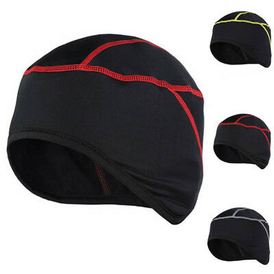 Cycling Skull Cap Motorbike Under Helmet Hat Ear Cover Thermal Windstopper UK