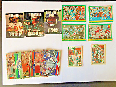 NFL Cards Pro Set, Fleer Corp and Topps MIXED SET from 1984,1987 and 1991 QTY 40