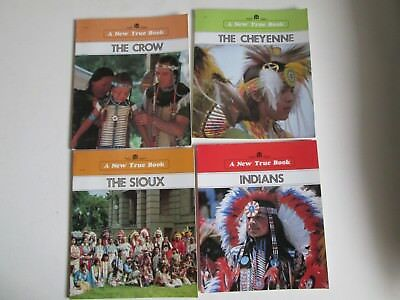 4 Indian Childrens Books  4 Different  Tribes