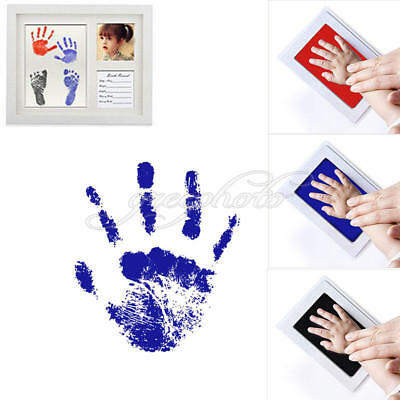 Inkless Wipe Baby Kit Hand Foot Print Keepsake Newborn Footprint Handprint
