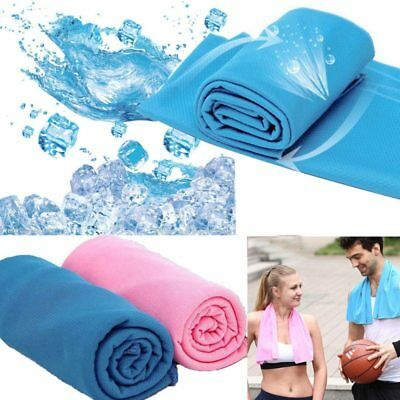 Cooling Towel Ice Chilly Sport Outdoor Neck Pad Headband Cooler Gym Chilly Towel