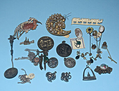 Vintage Antique Jewelry Lot of 22 Pieces