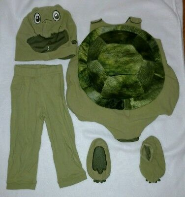 The Children's Place Infant Toddler Unisex Turtle Costume 6 Piece