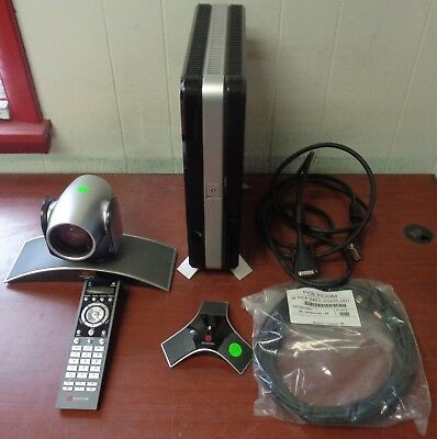 Used Polycom HDX 7000 HD Video Conferencing System w/ MPTZ-6 Camera Bundle