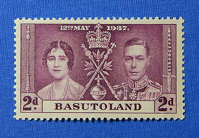 1937 BASUTOLAND 2d SCOTT# 16 S.G.# 16 UNUSED                             CS20600