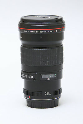 Canon EF 200mm f/2.8 L USM II Prime Lens in Very Good Condition