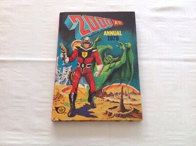 2000 AD 1978 Hard Back Annual