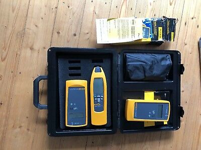 Genuine Fluke 2042 Cable Locator (2x Transmitter + Receiver) + Accessories / UK