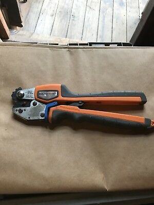 TBM45S Thomas & Betts Colorkeyed Compression Tool Ratchet Crimpers