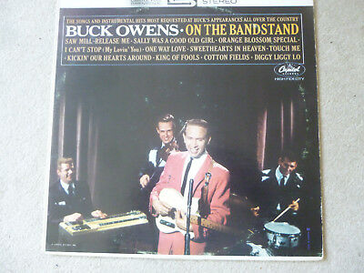 Buck Owens-On the Bandstand-Orig.Capitol ST 1879-Stereo