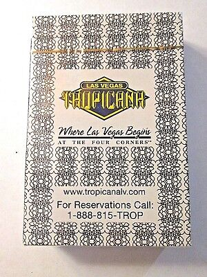 (1) Las Vegas Tropicana at the Four Corners Casino Sealed Unopened Playing Cards