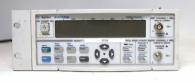 Agilent 53150A CW Microwave Frequency Counter / Power Meter 20GHz