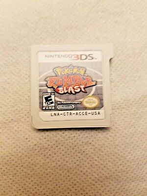 Pokemon Rumble Blast (Nintendo 3DS, 2011) (Game Only)