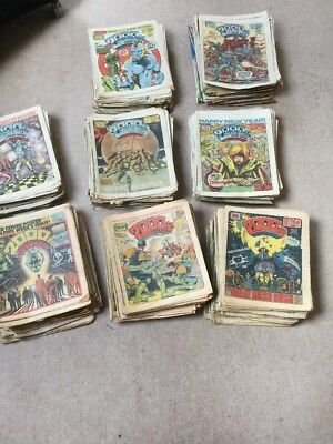 2000AD approximately 400 Progs from 144 -552