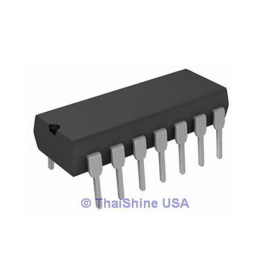 5 x CD40106 40106 HEX SCHMITT TRIGGER IC - TEXAS - USA Seller - Free Shipping
