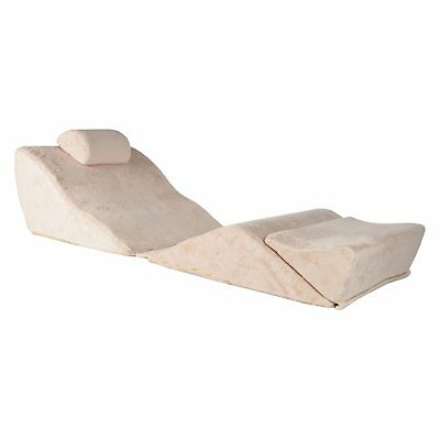Contour Living Backmax Foam Bed Wedge System Tan Massage with Case