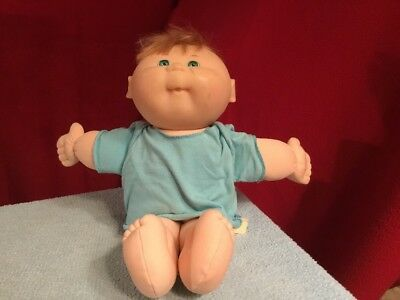 Vintage 1995 Mattel First Edition Cabbage Patch Kid Doll Green Eyes CPK