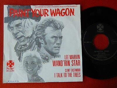 """7"""",,, Wand'rin' Star,,,Orig.,,Lee Marvin,,-,,Clint Eastwood,,,! LESEN !"""