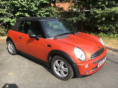 Mini Convertible 2005 1600 Petrol