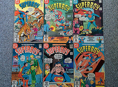 The New Adventures of Superboy - 1981 # 13 - 14 - 16 - 17 - 20 - 24 (6 in total)