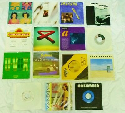 Mike Oldfield, Madonna, Cora, Big Country, Anne Clark, Foreigner, Ultravox,