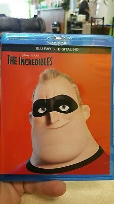 Disney PIXAR The Incredibles  (Blu-Ray)