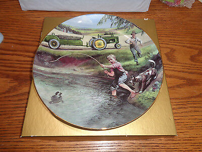 John Deere - Turtle Trouble - WH Hinton Collectible Plate - Rare LE