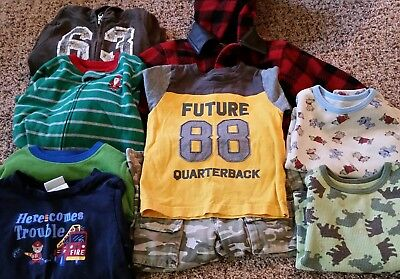 Lot of fall winter clothing, boy's, 2T 24 mo