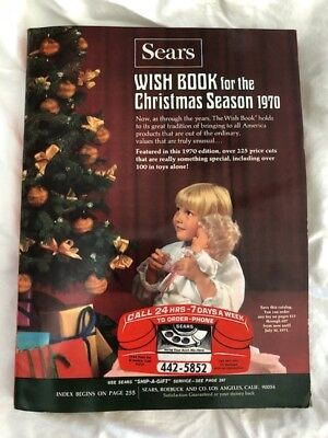 1970 Sears Wish Book Christmas Season 1970 - With Insert - Very Good/Excellent