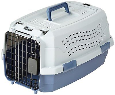 Cage Transport Animal Domestique 2 Portes et Ventilations 48 x 30 x 25cm