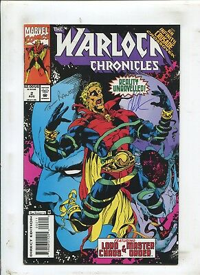 Warlock Chronicles #2 - Signed By Jim Starlin & Tom Raney! - (9.2) 1993