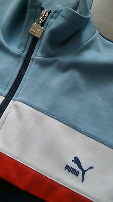 Vtg Puma tracksuit track jacket top size large  xl mod indie 80s casuals