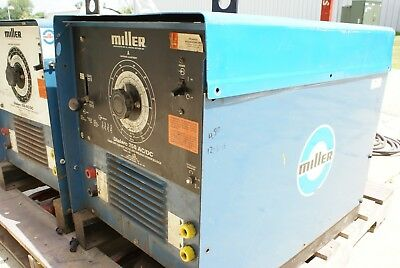 Miller Dialarc 250 Ac/dc Single Phase Arc Tig Stick Welder Smaw Dial Arc