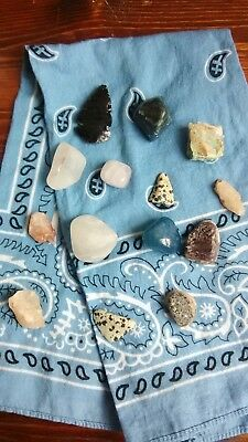 Crafters Rock Collection Mix Gems Crystals Natural Mineral Specimens