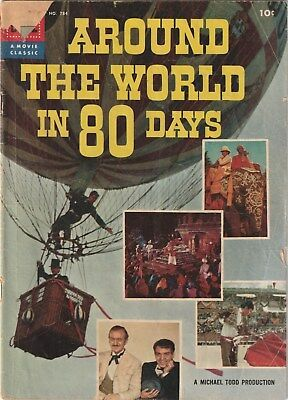 Four Color Number 784. Around The World On 80 Days , Dell 1956   Movie Apt